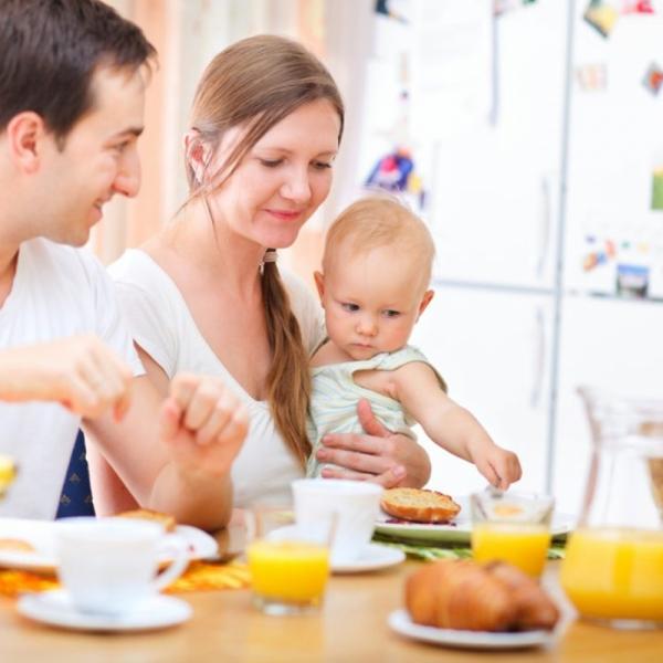 Введение педагогического прикорма грудничку
